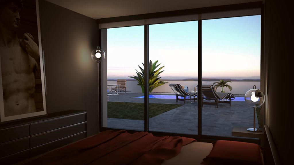 Casa tipo L Dormitorio principal